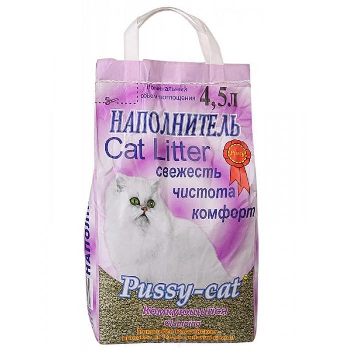 Pussy-Cat Комкующийся наполнитель, 4.5 л