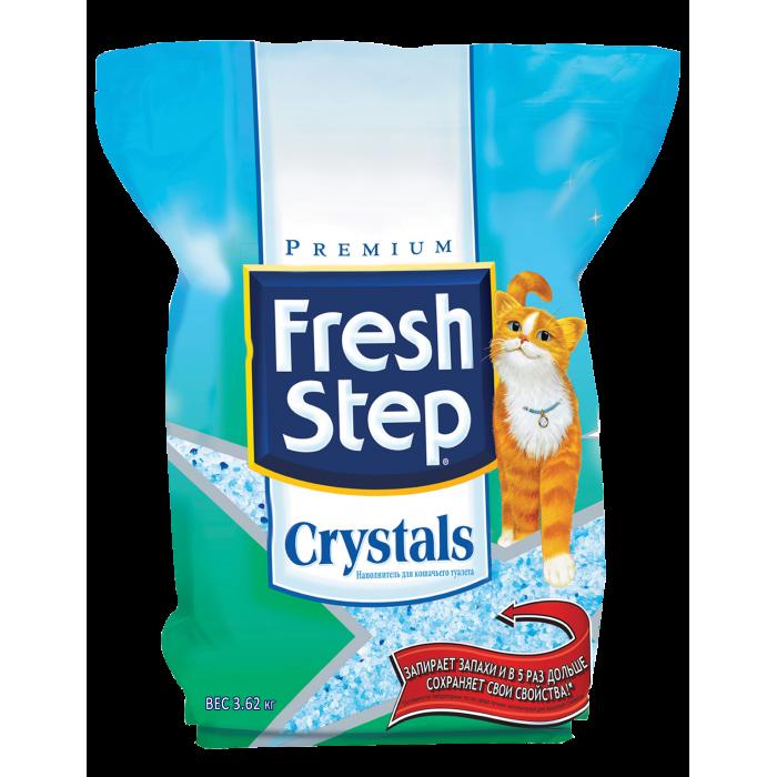 Fresh Step Силикагелевый наполнитель (crystals) , 3.62 кг