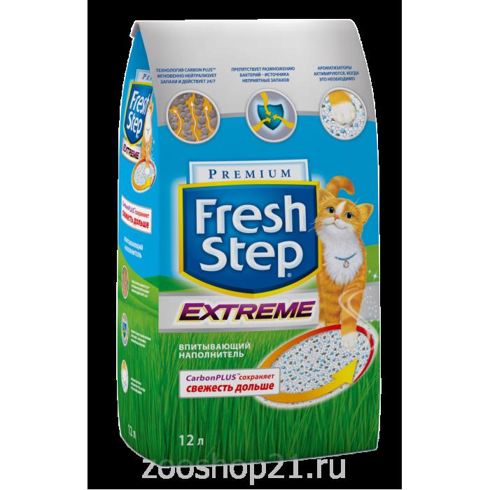 Fresh Step Тройная защита. Впитывающий наполнитель, 6.35 кг