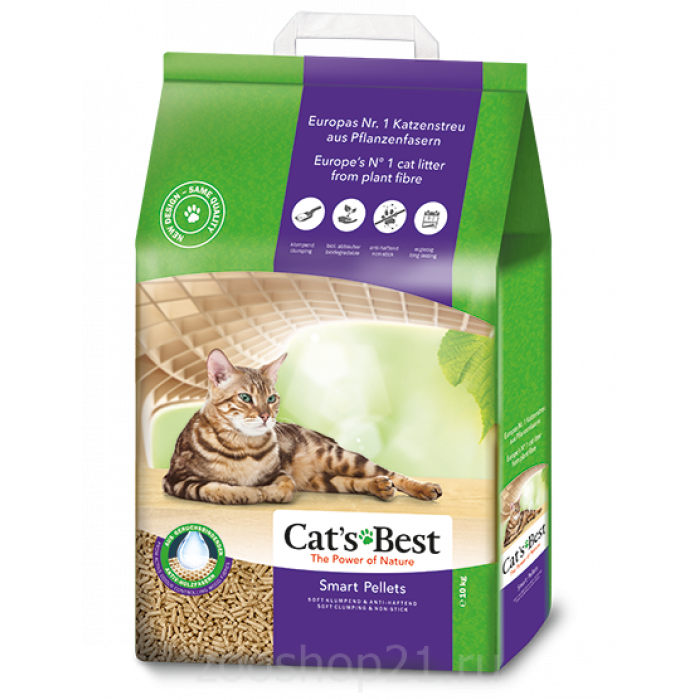 Cat's Best Smart Pellets, 5 л