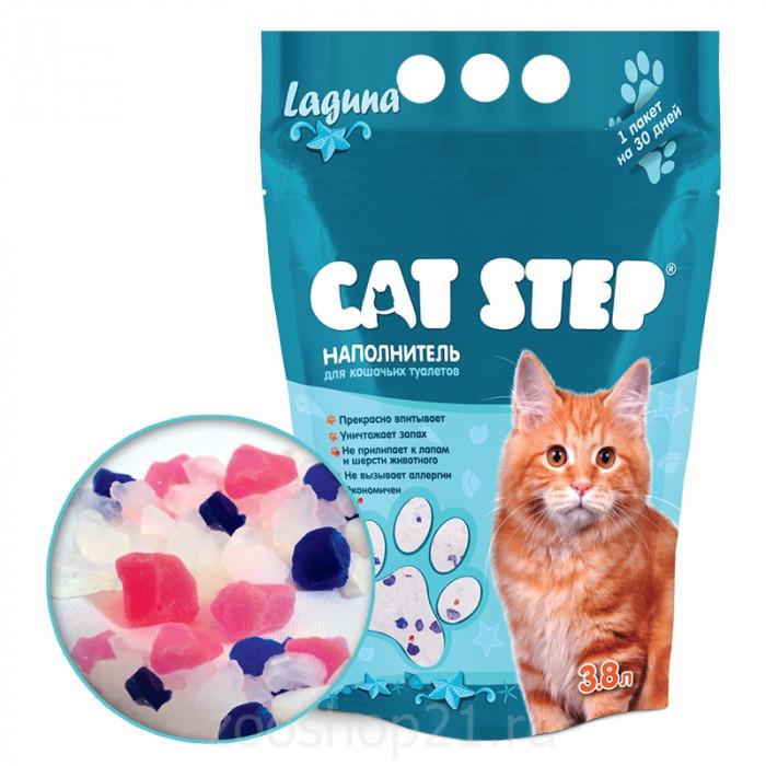 CAT STEP Laguna силикагелевый 3,8 л