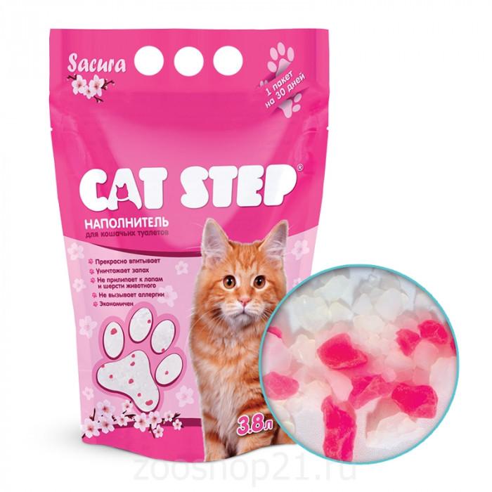 CAT STEP Sacura силикагелевый, 3.8 л