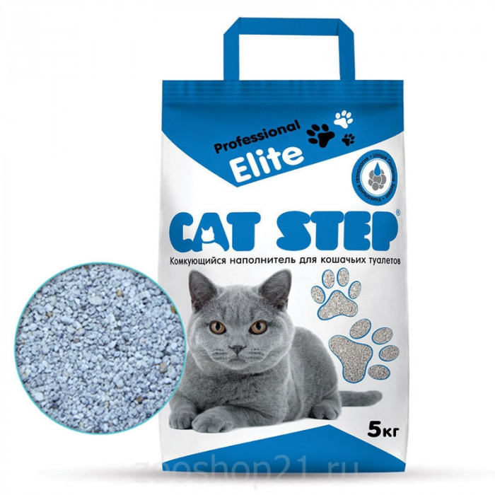 CAT STEP Professional Elite с ALOE VERA 5 кг