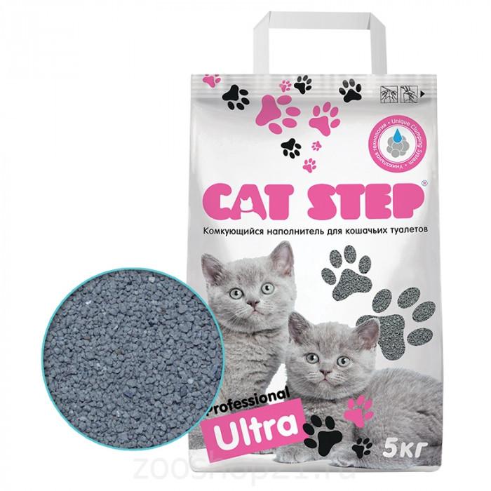 CAT STEP Professional Ultra бентонитовый 5 кг