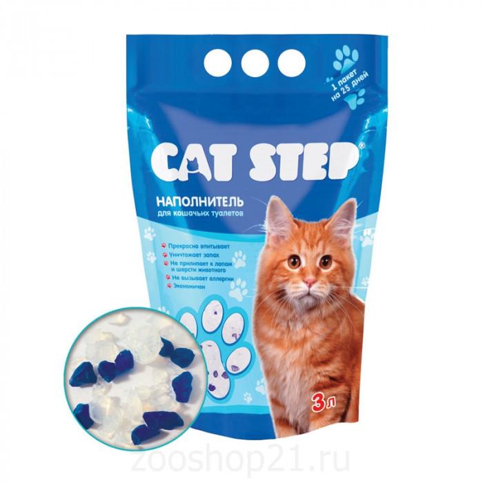 CAT STEP силикагелевый, 3 л