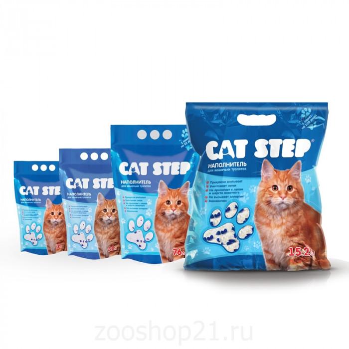 CAT STEP силикагелевый, 15.2 л