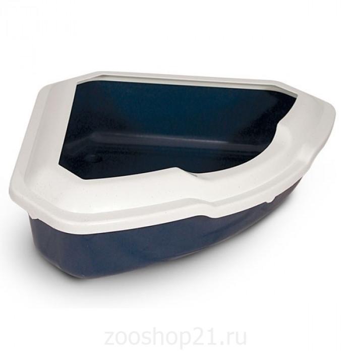 Триол Туалет для кошек СТ-03 углов с борт 56,5*42,5*15см