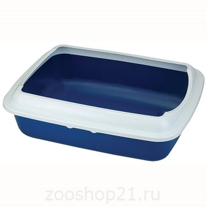 Триол Туалет для кошек СТ-04 с бортом 50,5*39*15мм