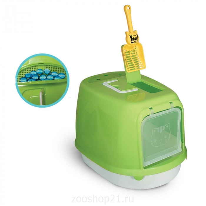 Триол Туалет-бокс для кошек Р658 500*350*340мм