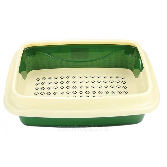 Туалет для кошек Триплекс большой 38*48*16см