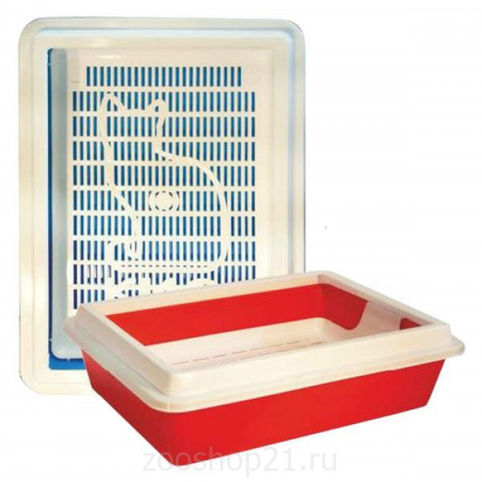 "Туалет с сеткой ""КИС"" глубокий с рамкой 41х30х12 см"