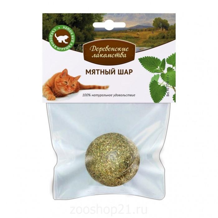 Деревенские лакомства мятный шар 0.050 кг