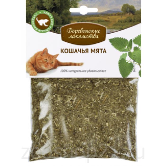 Деревенские лакомства Мята кошачья, 0,015 кг