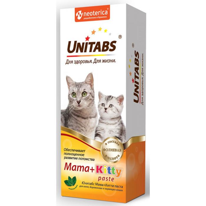 Юнитабс паста Mama+Kitty с B9, 120 мл