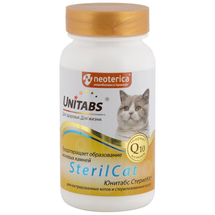 Юнитабс SterilCat для кошек, 120 таблеток