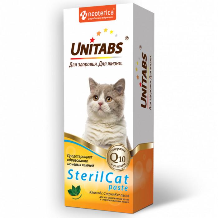 Юнитабс паста SterilCat с Q10, 120 мл