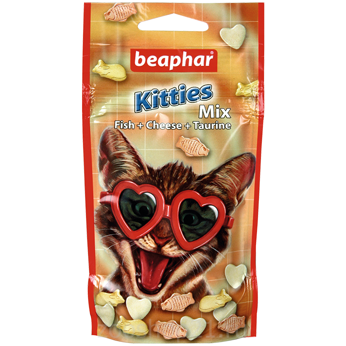 Beaphar Витамины для кошек смесь «Kitty`s MIX» 32,5 г