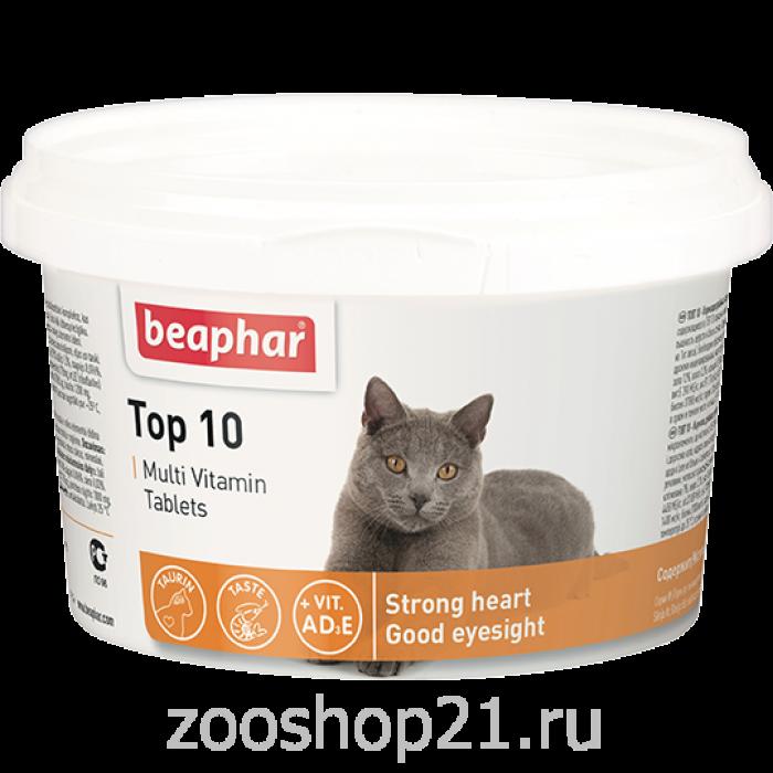Beaphar Мультивитамины для кошек, 180 шт