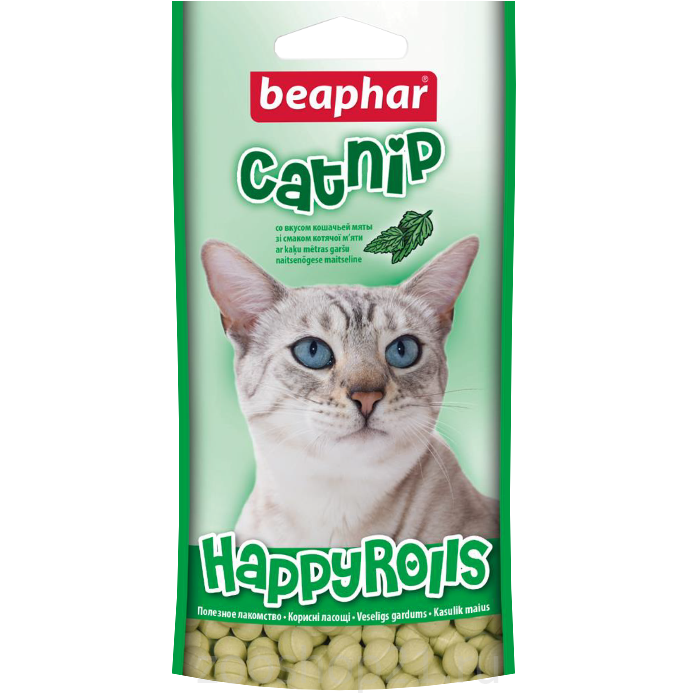 Beaphar Рулеты для кошек с кошачьей мятой, 80 шт