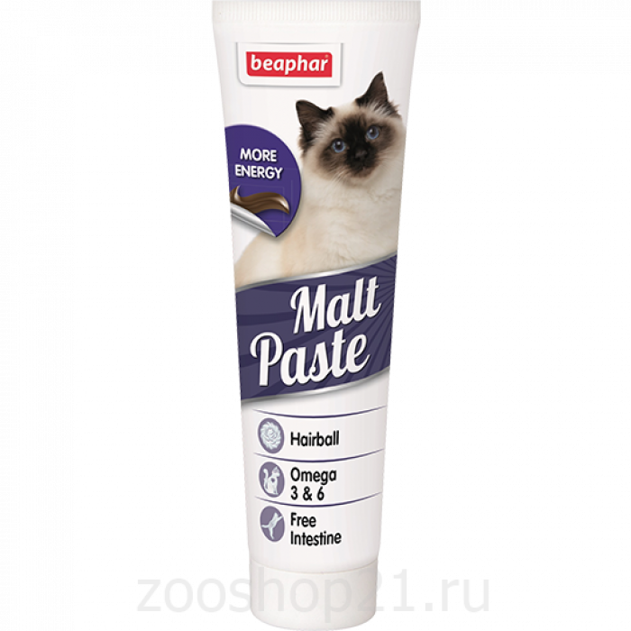 Beaphar Паста для вывода шерсти из желудка (Malt Paste) 100 г