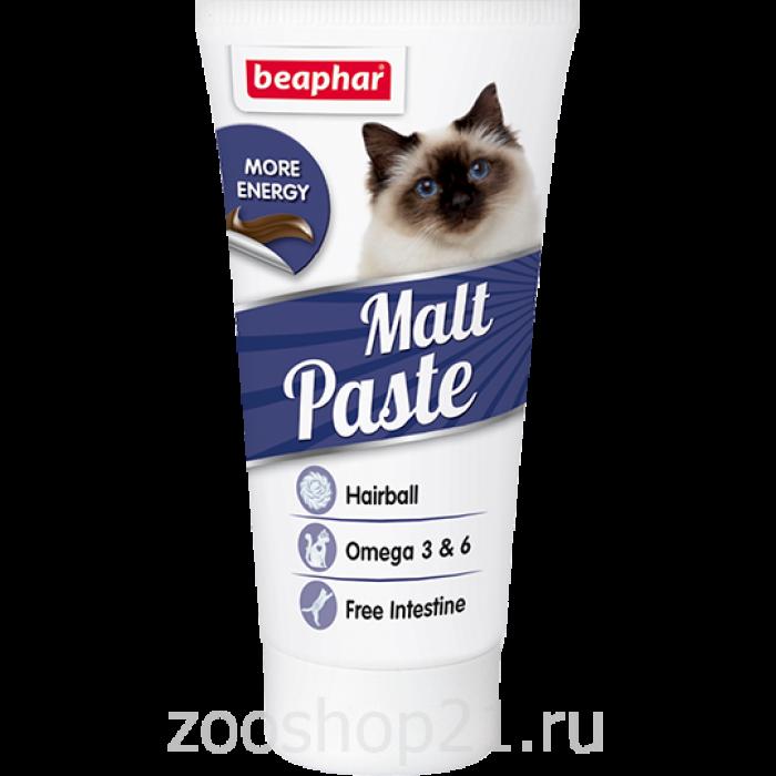 Beaphar Паста д/выв. шерсти из кишечника «Malt Pastе» 25 г