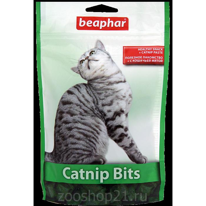 Beaphar Лакомства для кошек с кошачьей мятой (Catnip-Bits), 300 шт
