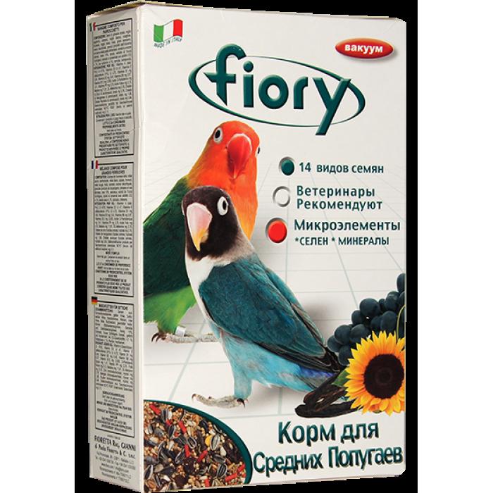 Fiory корм для средних попугаев Parrocchetti Africa, 800 г
