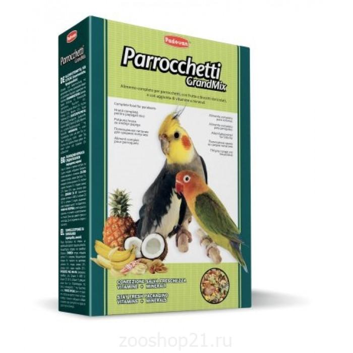 Padovan Корм для средних попугаев (Grandmix Parrocchetti), 850 г