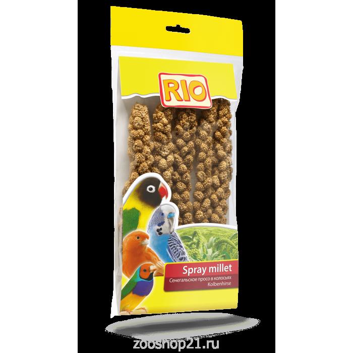 Rio Лакомство для птиц Сенегальское просо в колосьях, 0,1 кг