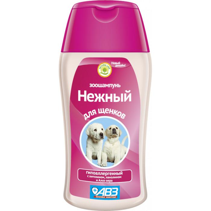 АВЗ Шампунь Нежный гипоаллергенный для щенков, 180 мл