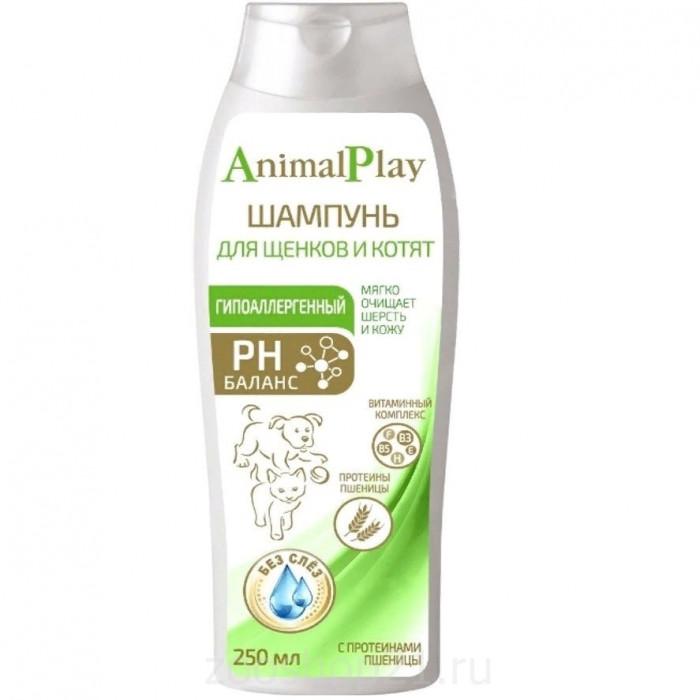 """Шампунь для щенков и котят """"Animal Play"""" гипоаллергенный, 250 мл"""