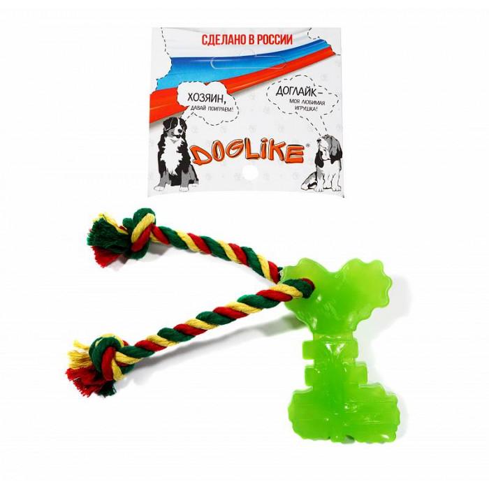 DOGLIKE Ключ с канатом с этикеткой, зелёная