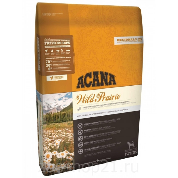 Корм для собак Acana WILD PRAIRIE, 2 кг