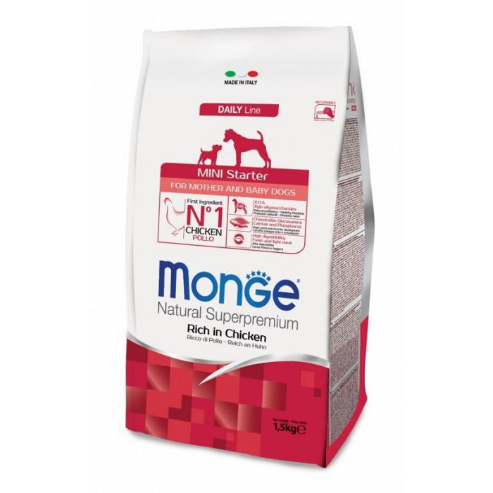 Корм Monge Dog Mini для щенков мелких пород, 3 кг