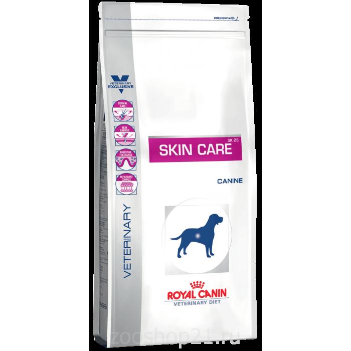 Корм Royal Canin Skin Care SK 23 для собак при дерматозах, 2 кг