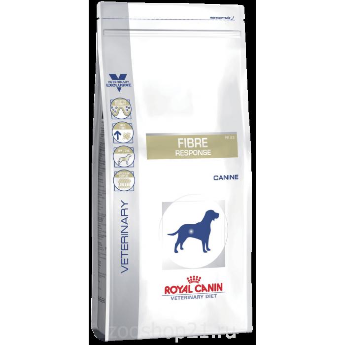 Корм Royal Canin Fibre Response FR 23 для собак при запоре, диарее, колите, 2 кг