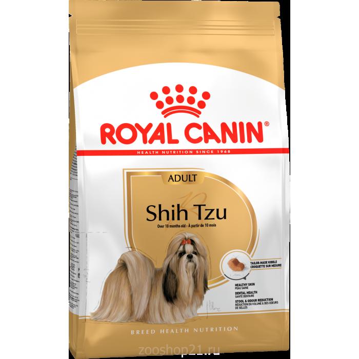 Корм Royal Canin Shih Tzu Adult для породы ши-тцу старше 10 мес., 500 г