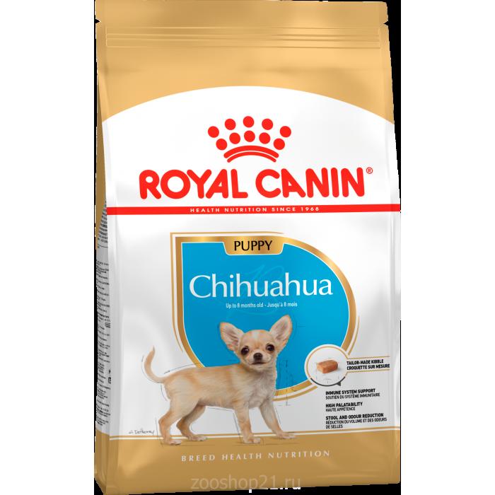 Корм Royal Canin Chihuahua Puppy для щенков чихуахуа до 8 мес., 500 г