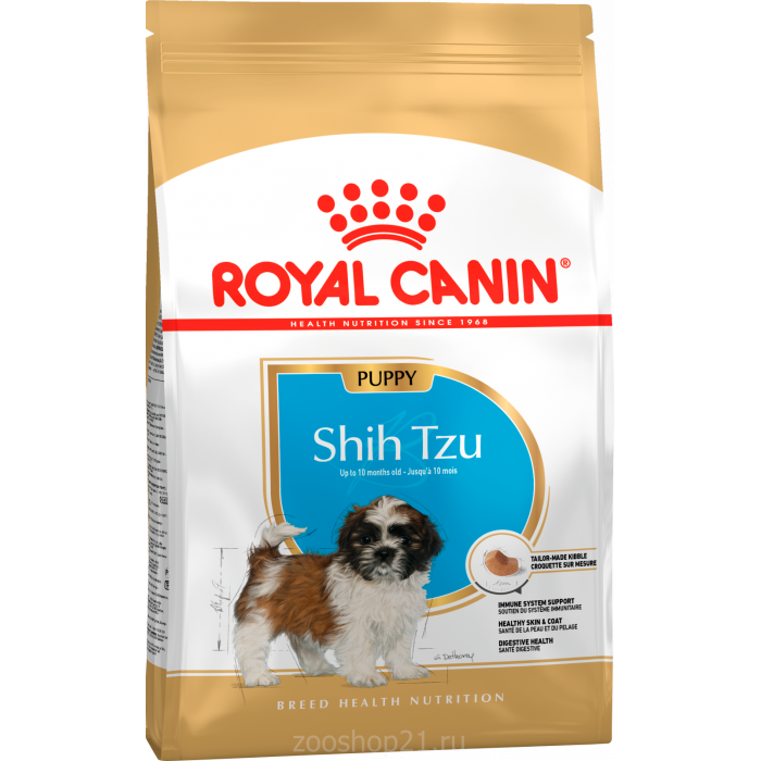 Корм Royal Canin Shih Tzu Puppy для щенков породы ши-тцу до 10 мес., 500 г