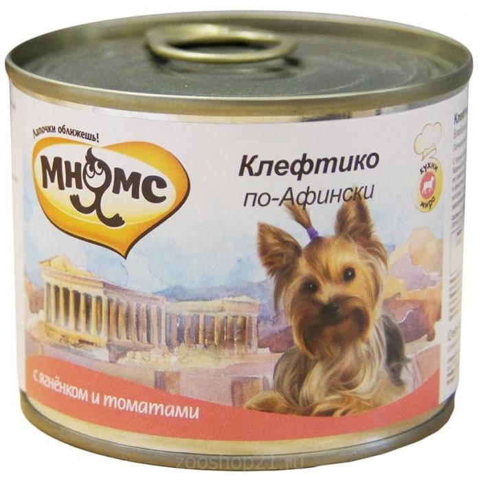Корм Мнямс консервы для собак Клефтико по-Афински (ягненок с томатами), 200 г