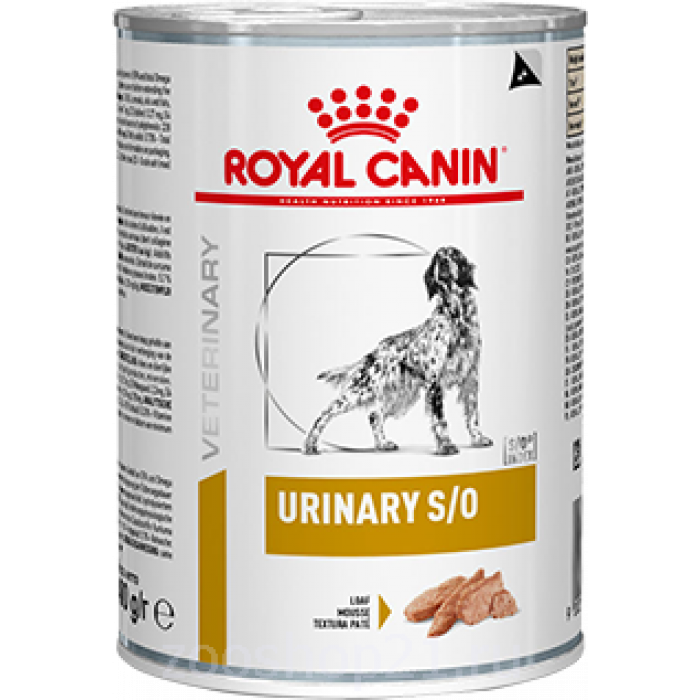 Корм Royal Canin Urinary S/O консервы для собак при МКБ, 200г