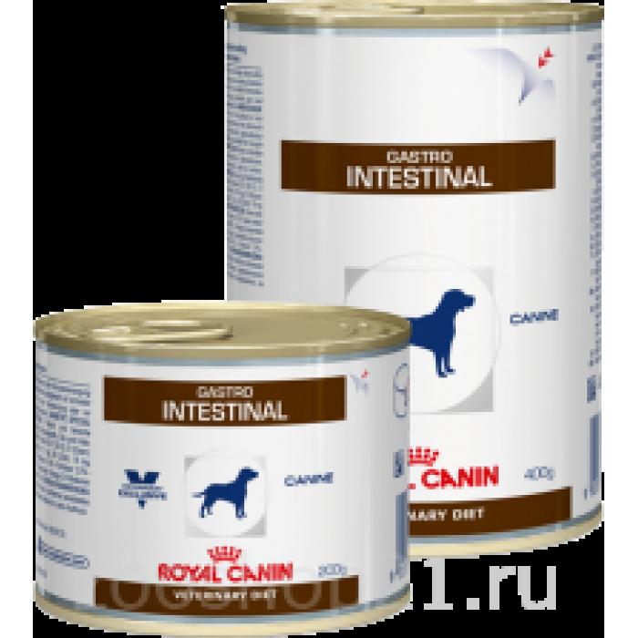 Корм Royal Canin Gastro Intestinal консервы для собак при лечении ЖКТ, 200 г
