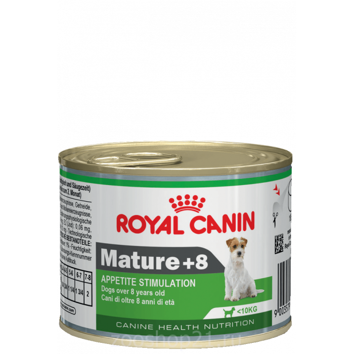 Корм Royal Canin Mature 8+ (мусс) для собак старше 8 лет, 195 г