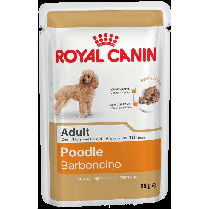 Корм Royal Canin Poodle Adult (паштет) для породы пудель старше 10 мес., 85 г