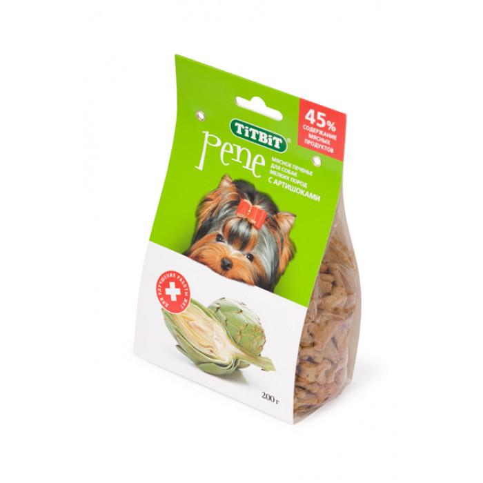 Лакомство для собак TiTBiT Печенье PENE с артишоками, 200 г