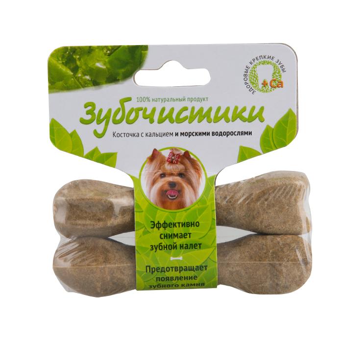 """Лакомство """"Зубочистики"""" для собак мелких пород, с морскими водорослями, 2 шт"""