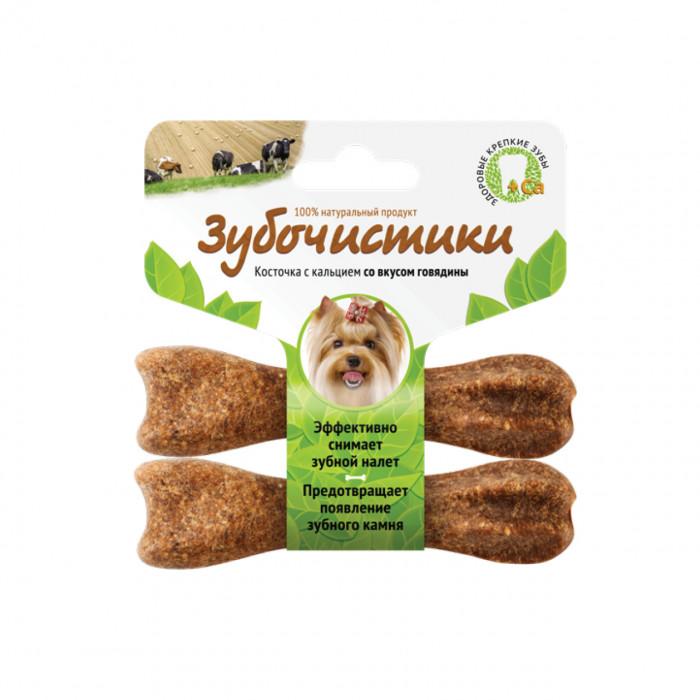 """Лакомство """"Зубочистики"""" для собак мелких пород, с говядиной, 2 шт"""