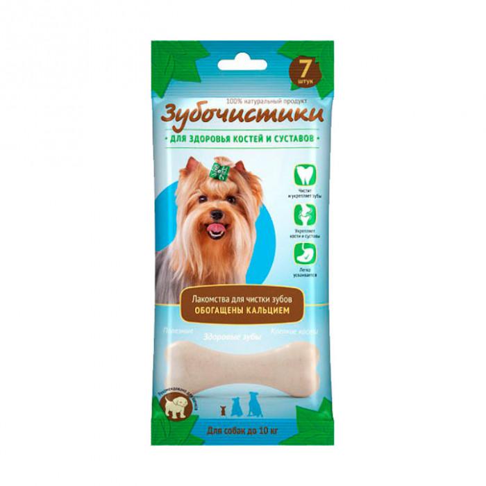 """Лакомство """"Зубочистики"""" для собак мелких пород, для здоровья костей и суставов, 7 шт"""