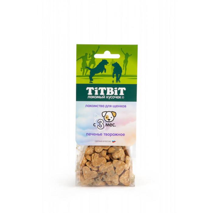 Titbit Печенье творожное для щенков 70 г