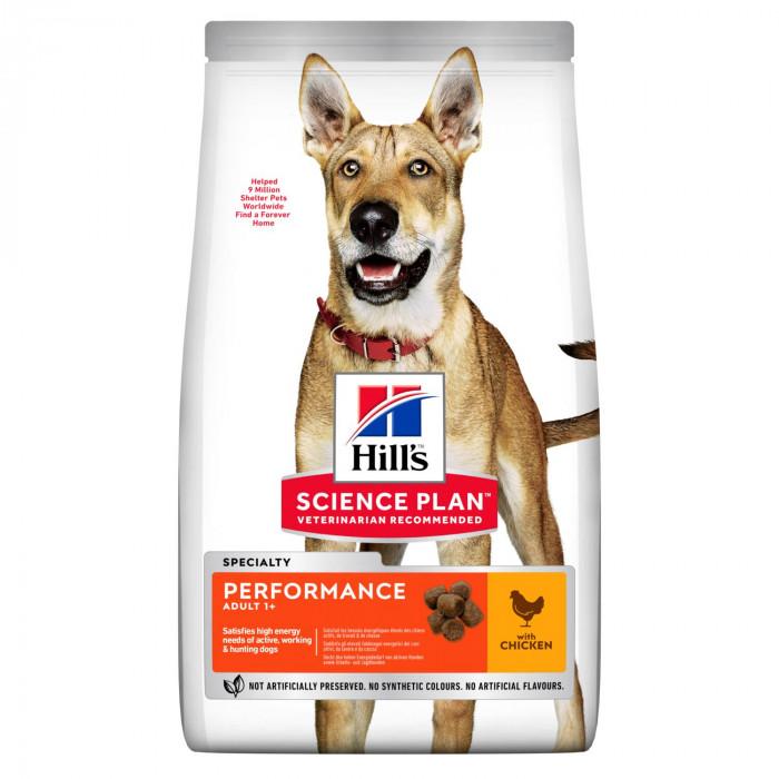 Корм Hill's Science Plan Performance для активных собак курица, 12 кг